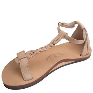 Rainbow Sandals NWT